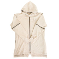 Reves Paris Ohayo Convertible Hoody In Cream