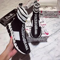 DOLCE & GABBANA Fashionable and casual socks and shoes-2