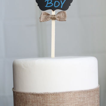 It's a Boy Topper (set of 4)