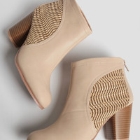 City Streets Woven Booties