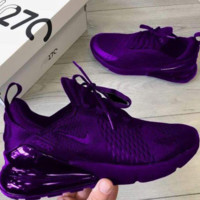 Purple Nike Air Max 270 Running Sports Shoes Sneakers