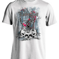 Rock and Roll clothing | Rock and Roll shirt | Rock and Roll gift | Graphic Tee | Grunge Tees |  Graphic tees for men and women