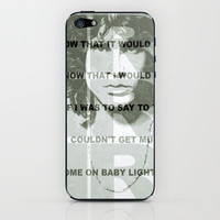 Jim Morrison iPhone & iPod Skin by Richard Casillas