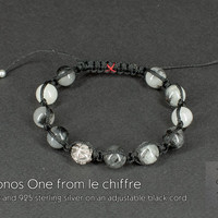 Chronos I quartz and silver bracelet