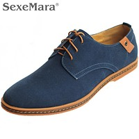 Hot Sale Men Shoes 2016 Spring Autumn Winter Warm Synthetic Leather Casual Shoes Mens Oxfords Outdoor Flat Plus Size