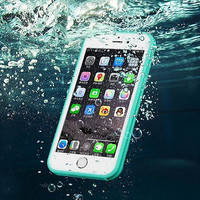 Waterproof iPhone 6S Case Shockproof Full Sealed  iPhone 6s 6 Plus 5S 5 SE Durable Protective Case  Green SJK-0003-4