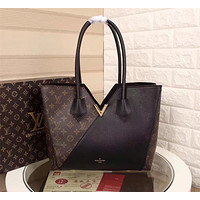 LV Louis Vuitton MONOGRAM CANVAS KIMONO HANDBAG SHOULDER BAG TOTE BAG