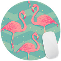 Flamingo Birds Mouse Pad Decal