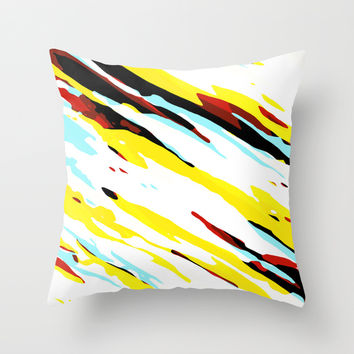 Trippy Panda 8 Throw Pillow by HappyMelvin Graphicus