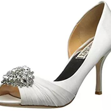 Badgley Mischka Women's Pearson D'Orsay Wedding Formal Elegant Pump