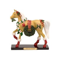 Trail of Painted Ponies Christmas Parade Pony Figurine 7-1/2-Inch