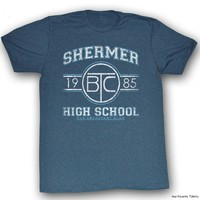 The Breakfast Club Shermer High School 1985 Officially Licensed Shirt S-2XL