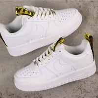 Nike Air Force 1 AF1 Low 'OFF-White' White Sneakers - Best Online Sale