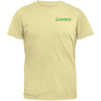 Guinness - Green Plaid Logo T-Shirt
