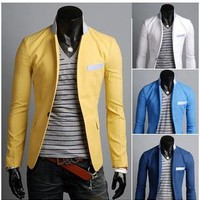 Blazer Korean Casual Men Jacket [6528873219]
