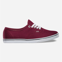Vans Authentic Lo Pro Womens Shoes Wine  In Sizes
