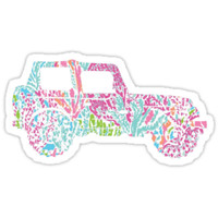 Lilly Pulitzer Inspired | Jeep #3 by lifeinlilly