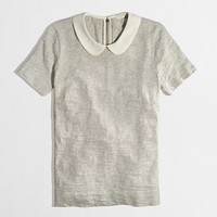 Factory Peter Pan collar tee - short sleeve - FactoryWomen's Knits & Tees - J.Crew Factory