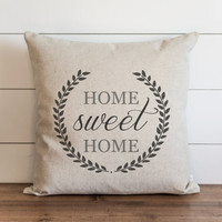 Home Sweet Home 20 x 20 Pillow Cover