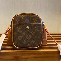LV Canvas Mini Women's Classic Presbyopia Shoulder Bag Crossbody Bag