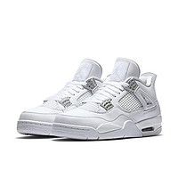 Air Jordan 4 Retro Pure Money Men Lifestyle Sneakers New White