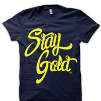 Stay Gold Unisex T-shirt by NIFTshirts