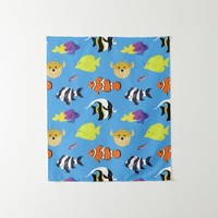 Clownfish and Friends Tapestry