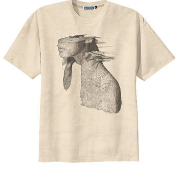 Retro Coldplay A Rush Of Blood To The Head Rock T-Shirt Tee Organic Cotton Vintage Look Size S M L