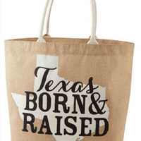 Mud Pie-Texas Southern State Tote-Texas