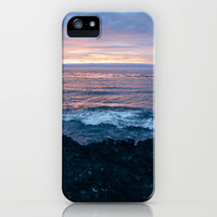 Violet Coast iPhone & iPod Case by Caleb Troy