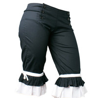 Wild Card Two-Tone Long Bloomers