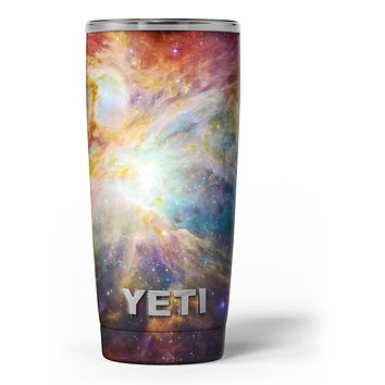 Mutli-Colored Clouded Universe - Skin Decal Vinyl Wrap Kit compatible with the Yeti Rambler Cooler Tumbler Cups