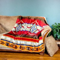 Super Soft Plush Southwestern Throw