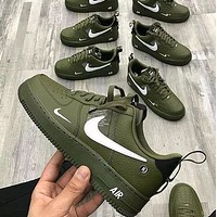 Trendsetter NIKE AIR FORCE 1 Women Men Fashion Casual Sneakers Sport Shoes-2