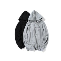 Men's Fashion Autumn Alphabet Embroidery Hoodies Pullover Hats [10847217859]