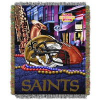 New Orleans Saints Tapestry Throw by Northwest (Snt Team)
