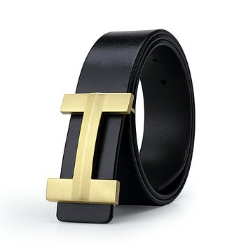 Genuine Leather Luxury Brand Belt