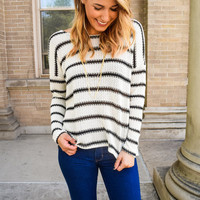 Sunday Morning Stripe Sweater