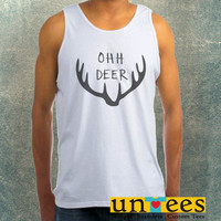 Ohh Deer Clothing Tank Top For Mens