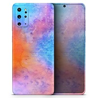 Mixed 8652 Absorbed Watercolor Texture - Skin-Kit for the Samsung Galaxy S-Series S20, S20 Plus, S20 Ultra , S10 & others (All Galaxy Devices Available)