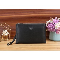 LV PRADA Popular Stylish Women Makeup Bags Handbag Men Business Bag Louis Vuitton Clutch Bag
