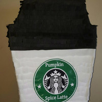 Cup of coffee Pinata inspired by Starbucks