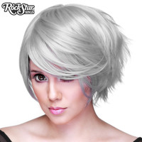 Cosplay Wigs USA™  Boy Cut Short - Steel Grey -00268