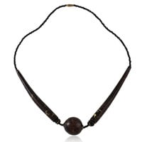 Kenyan Cow Horn Necklace