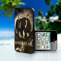 SUPERNATURAL Television Series - Photo On Hard Cover For iPhone 4,4S
