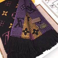 LV Louis Vuitton Women Men Fashion Accessories Sunscreen Cape Scarves Silk Scarf