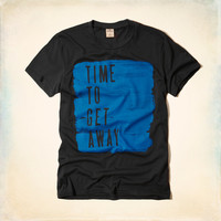 Time to Get Away Graphic T-Shirt