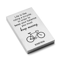 Keep Moving Paperweight