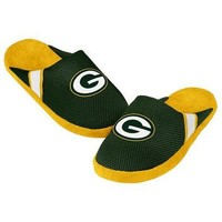 GREEN BAY PACKERS OFFICIAL NFL JERSEY SLIPPERS