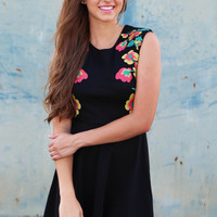 I Know You Floral Dress